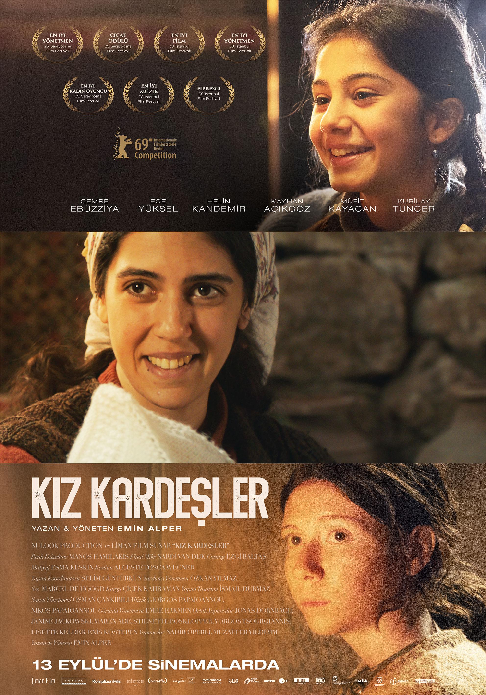 Emin Alper İmzalı Kız Kardeşler 13 Eylül'de Vizyonda!