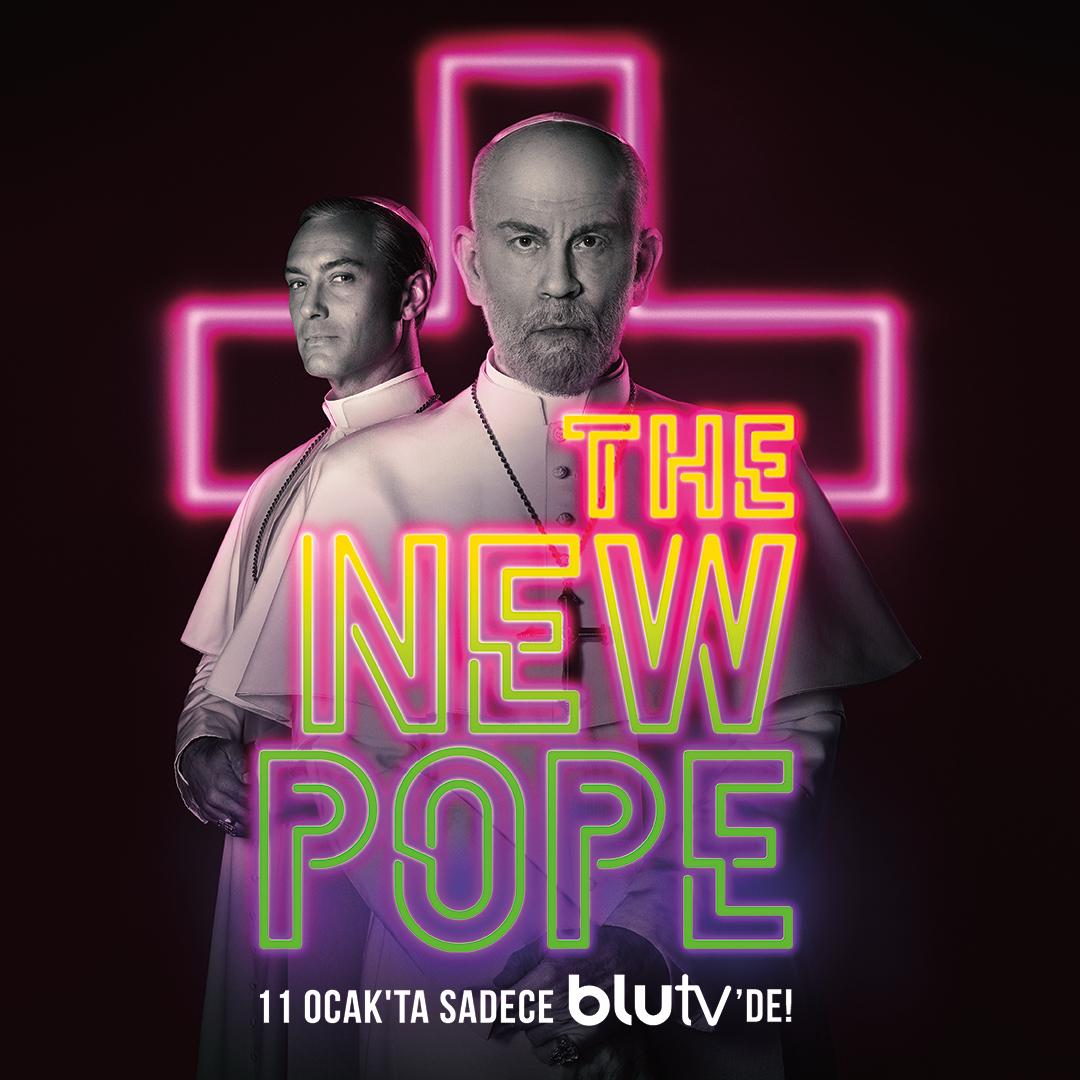 Jude Law ve John Malkovich'i Buluşturan The New Pope 11 Ocak'ta BluTV'de!