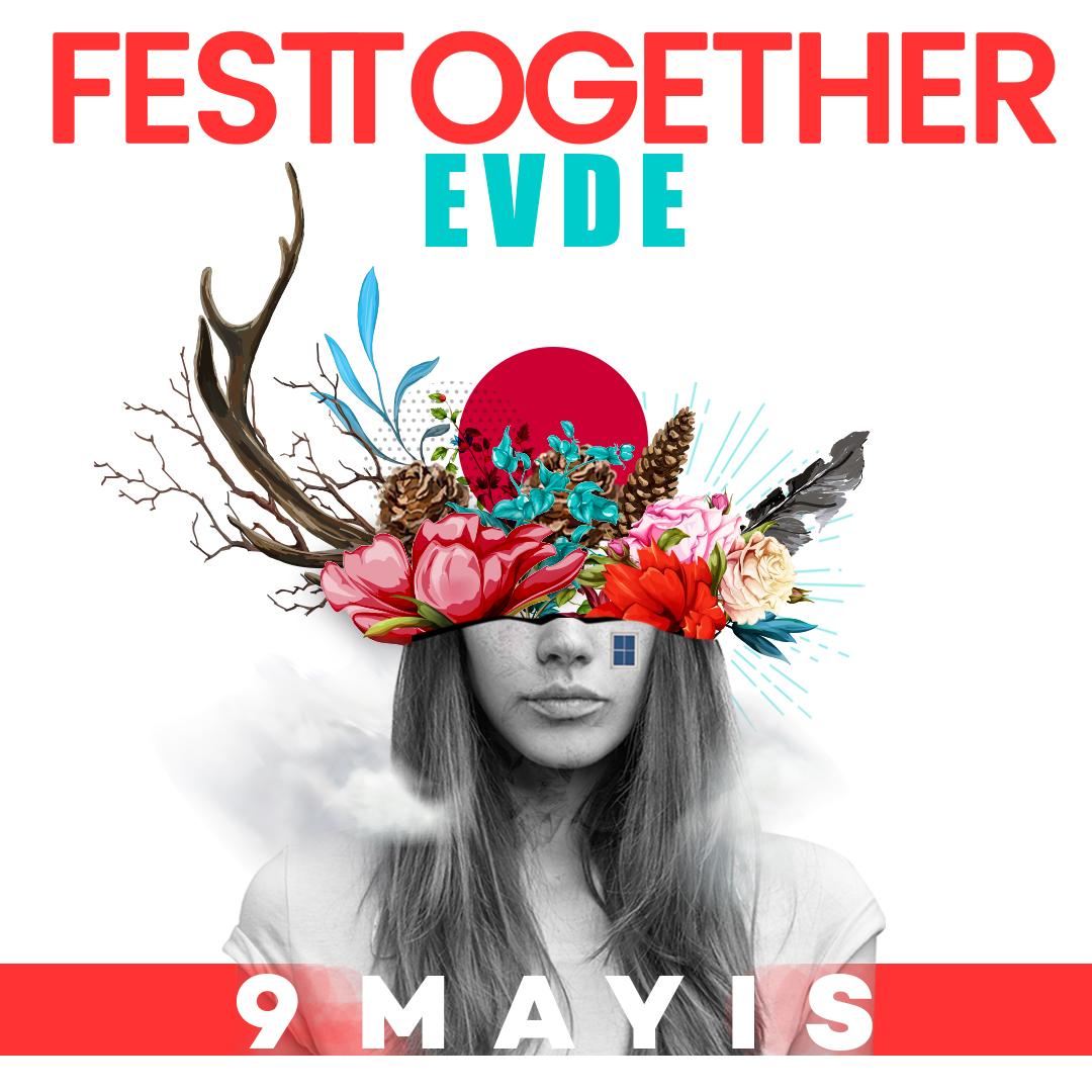 Türkiye'nin Sürdürülebilir Müzik Festivali Festtogether 9 Mayıs'ta Evlere Konuk Oluyor