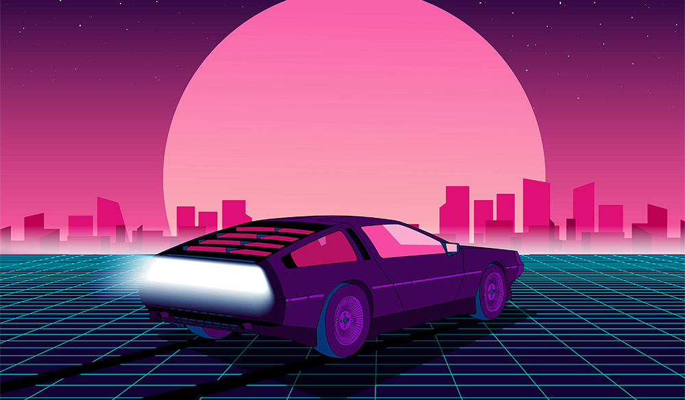 Mars'a Yolculuk: Synthwave